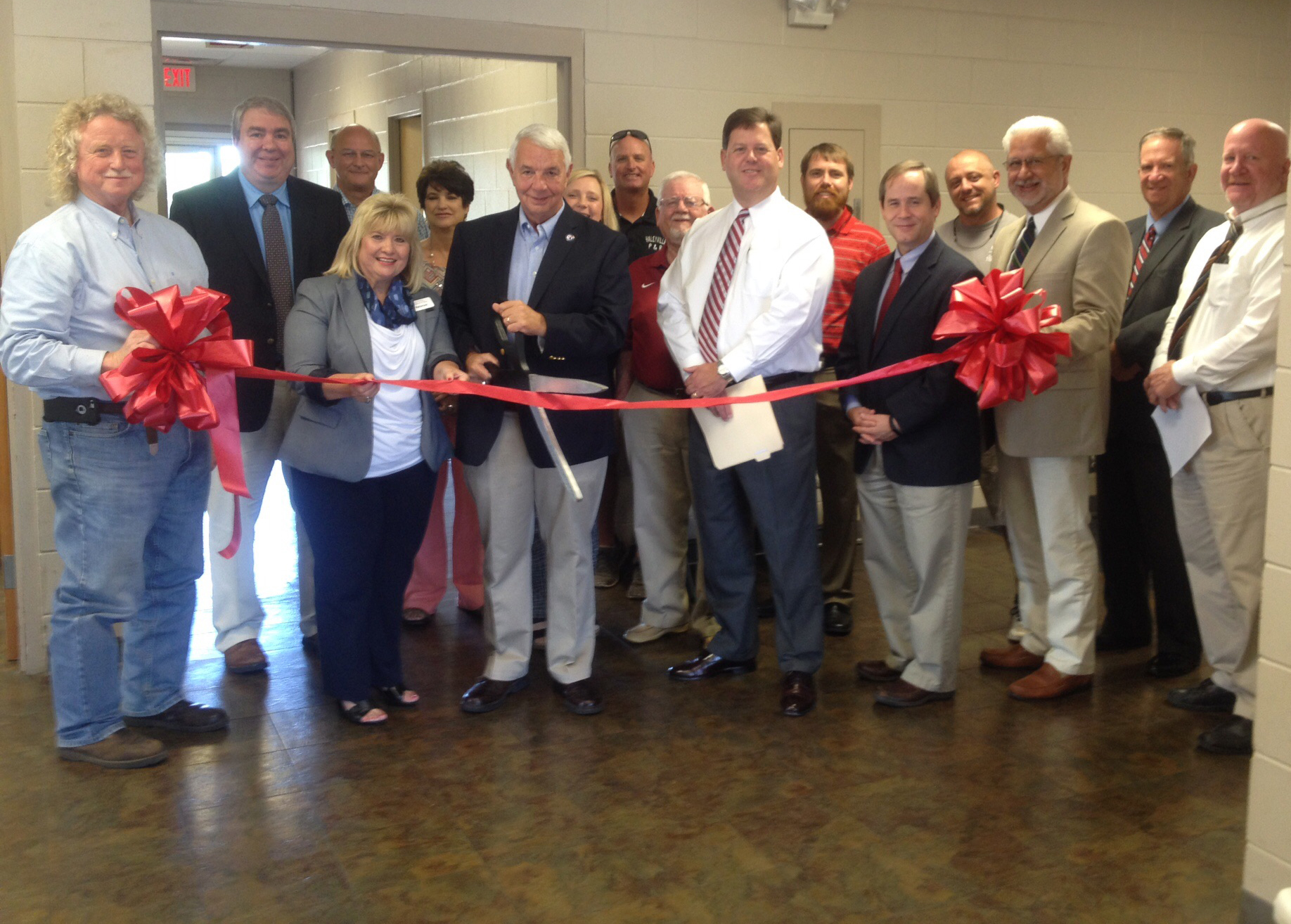 Ribbon Cutting For the Winston County AERN Center