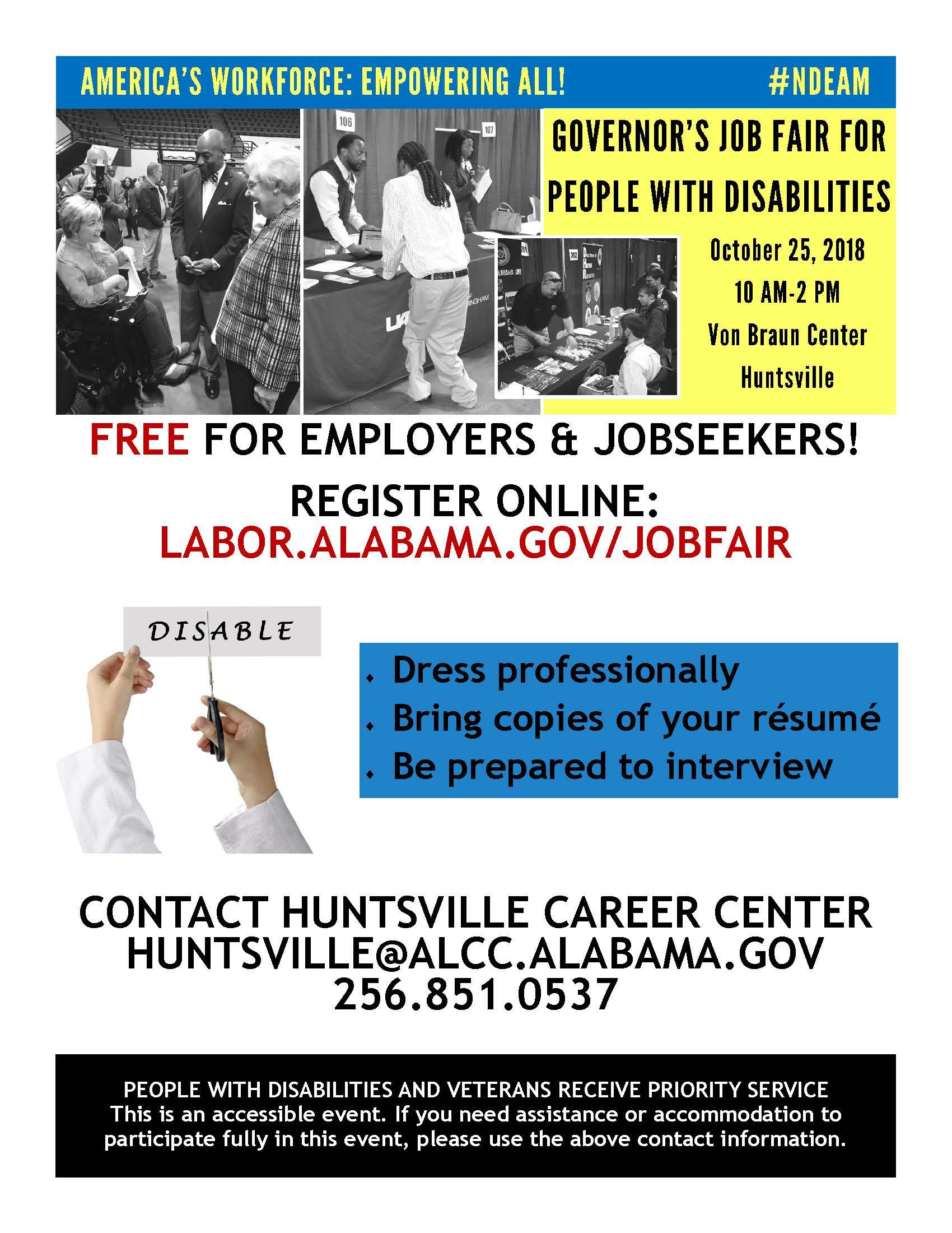 Job Fair 10/25/2018