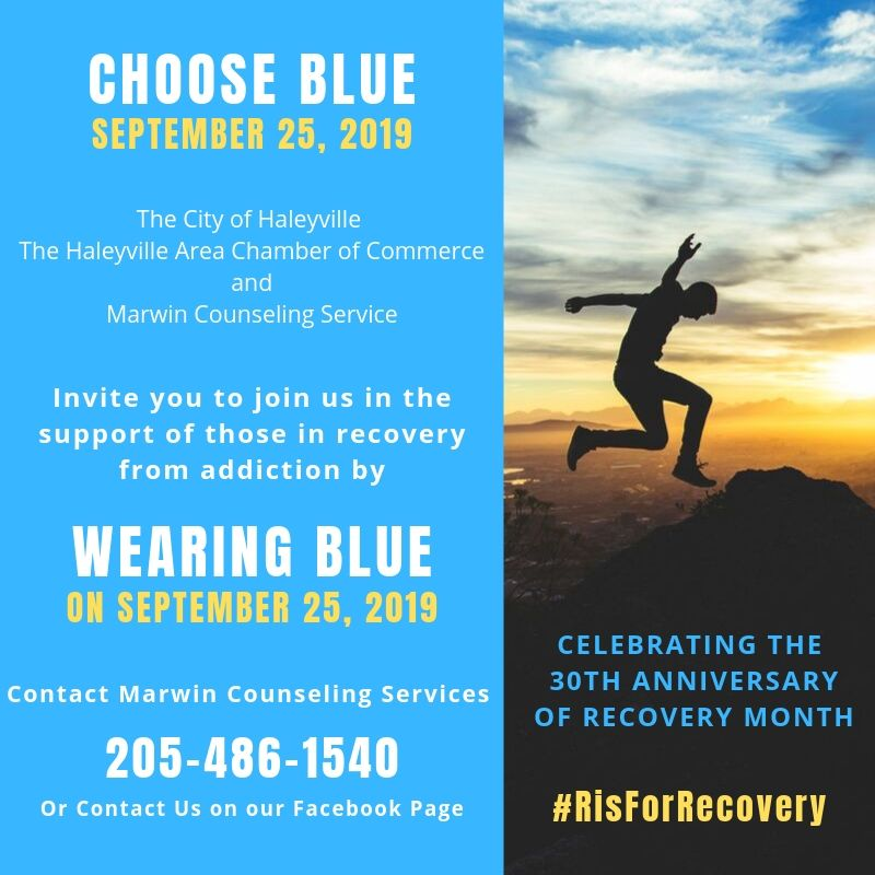 Wear Blue September 25, 2019